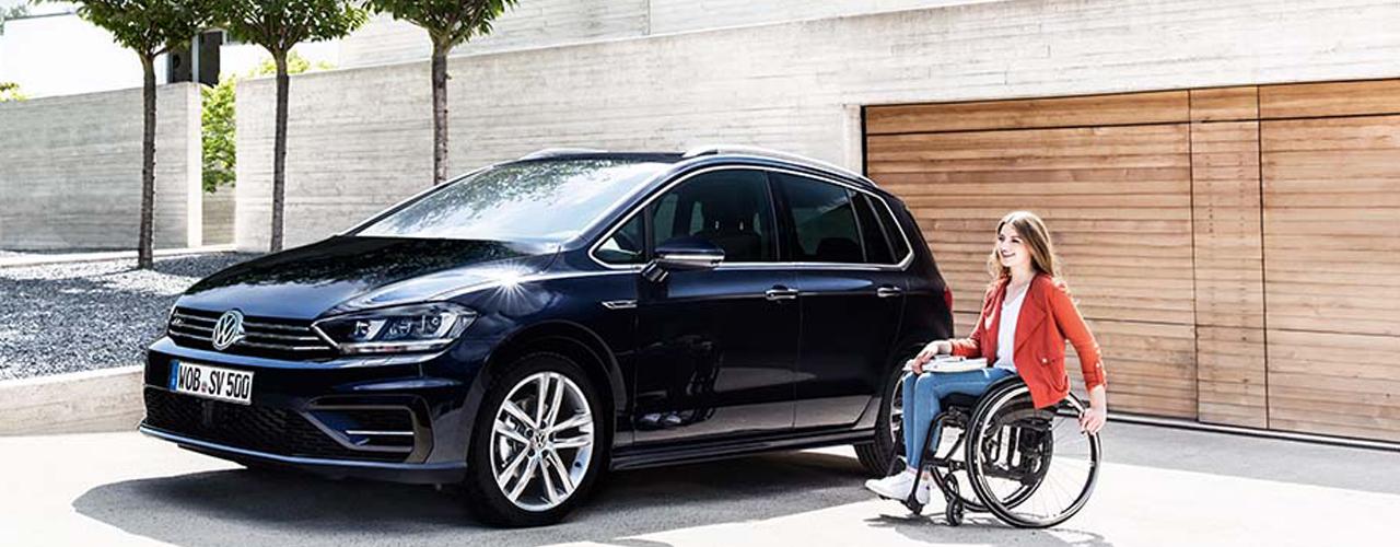 Menschen mit Handicap - Angebote vom Autohaus Karl Moser