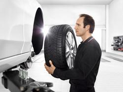 Reifenservice - Reifenwechsel im Autohaus Karl Moser